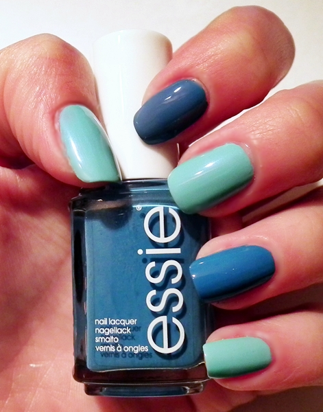 Essie, Essie Avenue Mountain 251, manicure, Jolly Jewels Golden Rose, Wibo Gel Like nr 7, wizaz