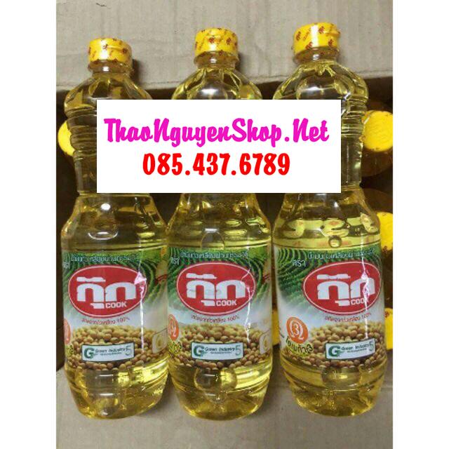 Dầu ăn đậu nành Thái Lan 1L - Lấy Hàng Thái Giá Sỉ HCM