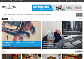 TechPro Technology Blogger Template