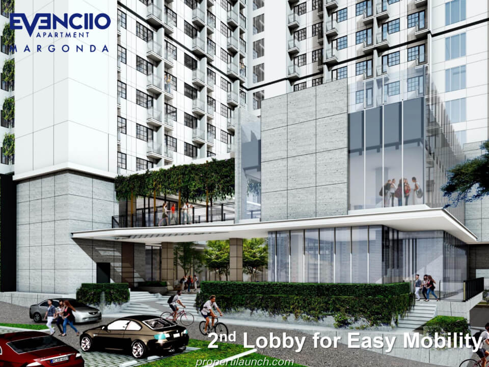 2nd Lobby Evenciio Margonda Apartment