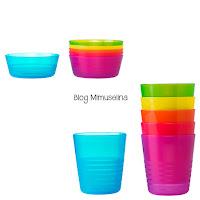 utensilios para comer el bebé vasos y platos, cuencos, ikea, blog mimuselina alimentación bebé