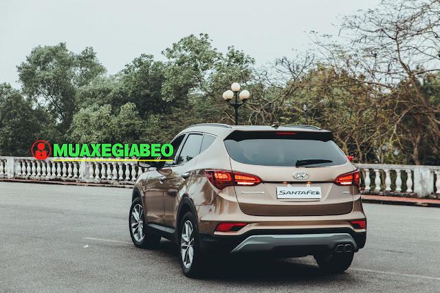Giới thiệu Hyundai SantaFe 2.4L máy xăng phiên bản tiêu chuẩn 2WD ảnh 7