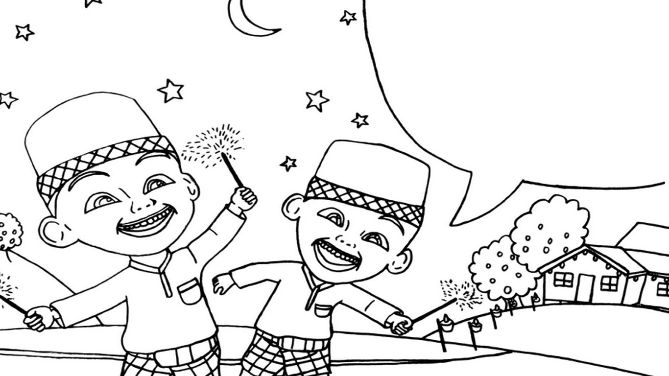 90 Gambar Kartun Menari Hitam Putih Lengkap Cikimm Com
