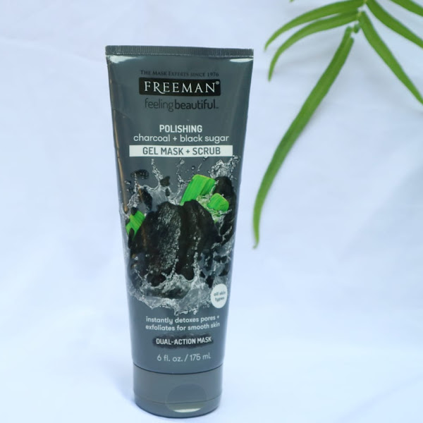 12 Manfaat Freeman Polishing Charcoal + Black Sugar Gel Mask