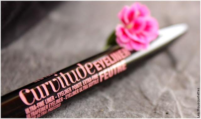 Curvitude Liner, l'eyeliner feutre de Maybelline - Blog beauté
