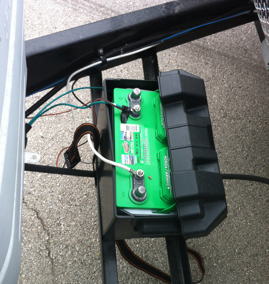 Solar Battery Wiring Edward Plumer Panels On Jayco Travel Trailer