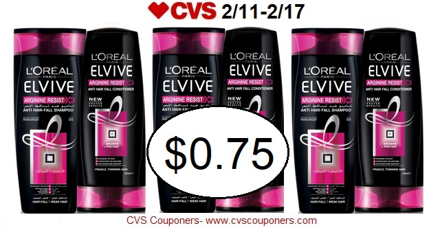 http://www.cvscouponers.com/2018/02/stock-up-pay-075-for-loreal-elvive.html