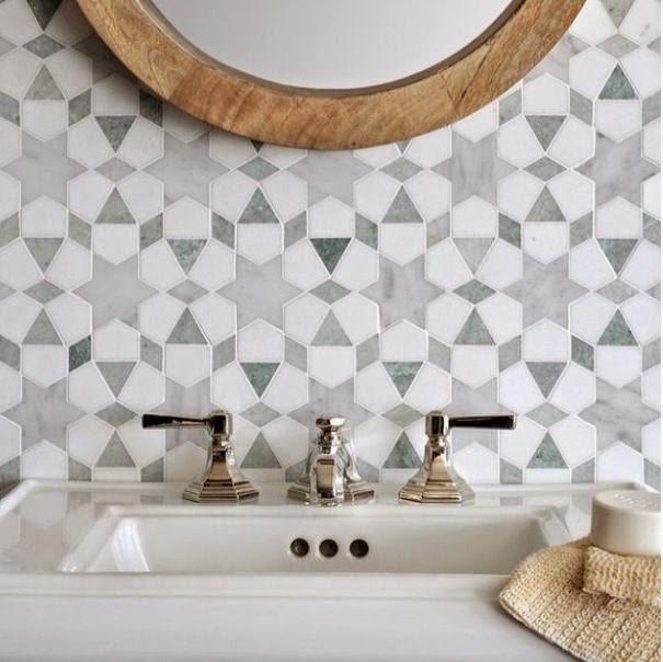 La Fabrique à Déco Choisir un carrelage original pour sa salle de bain