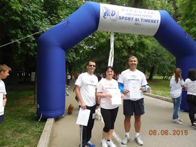 Hai la Crosul Olimpic de la Craiova!