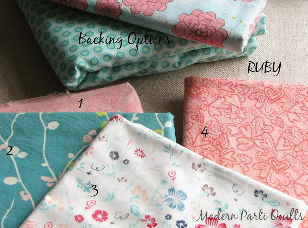 Modern Parti Quilts Fabric Watchers
