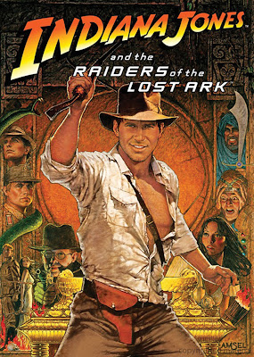 Poster Of Indiana Jones Raiders of the Lost Ark 1981 In Hindi Bluray 720P Free Download