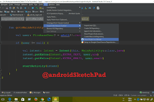 Android RecycleView with OnClickListener AndroidSketchpad