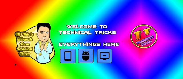 Technical Tricks YouTube Channel Art