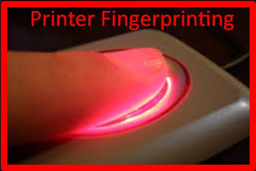 Printer Fingerprinting