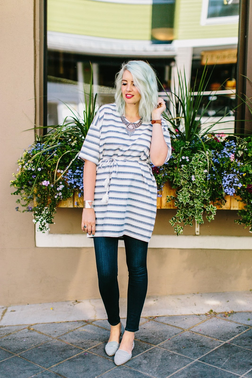 Darling Me Avenue, Stripes, Modest Fashion Blogger