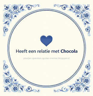 quote over chocola
