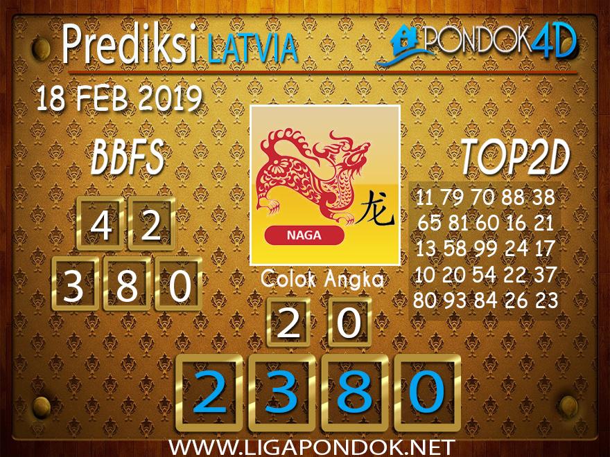 Prediksi Togel LATVIA PONDOK4D 18 FEBRUARI 2019