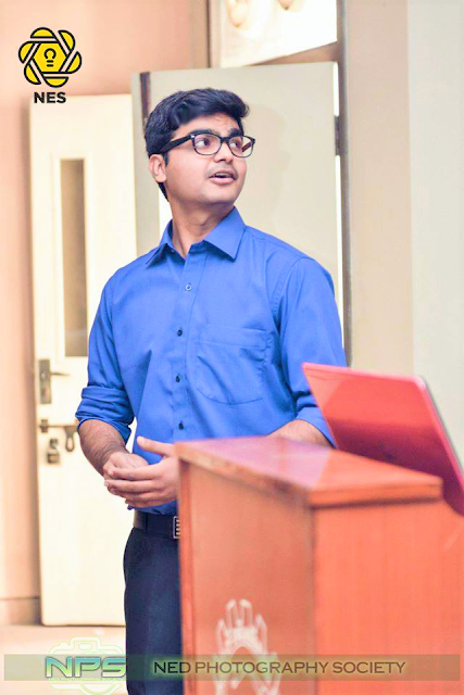 Syed Faizan Ali at NED University