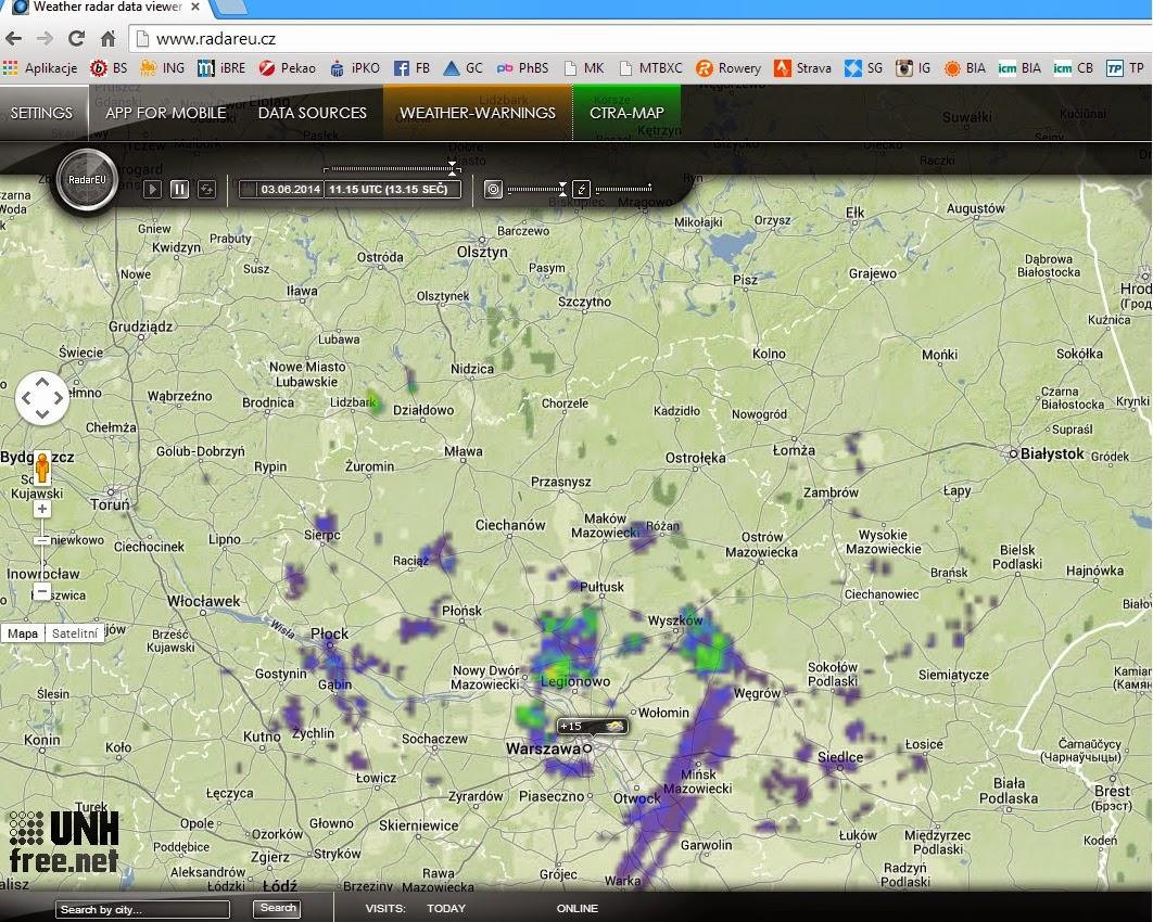 radar1 - Wpasować się między chmury
