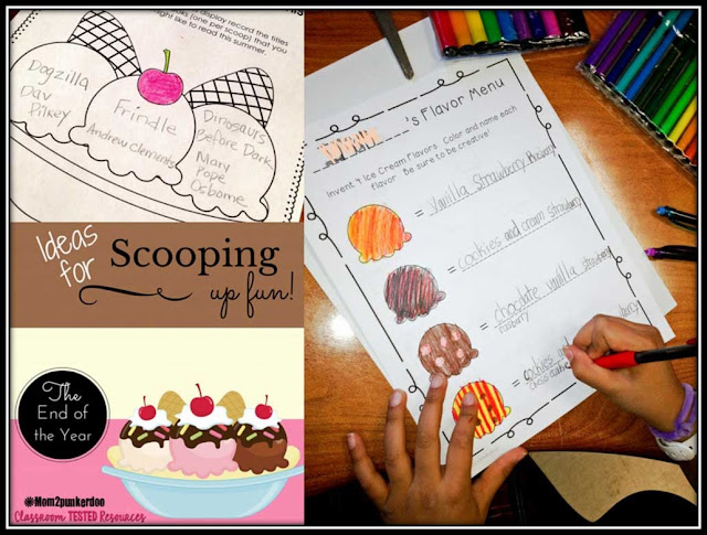 Keep the learning fun through the end of the year with these fun ice creamed themed review activities!