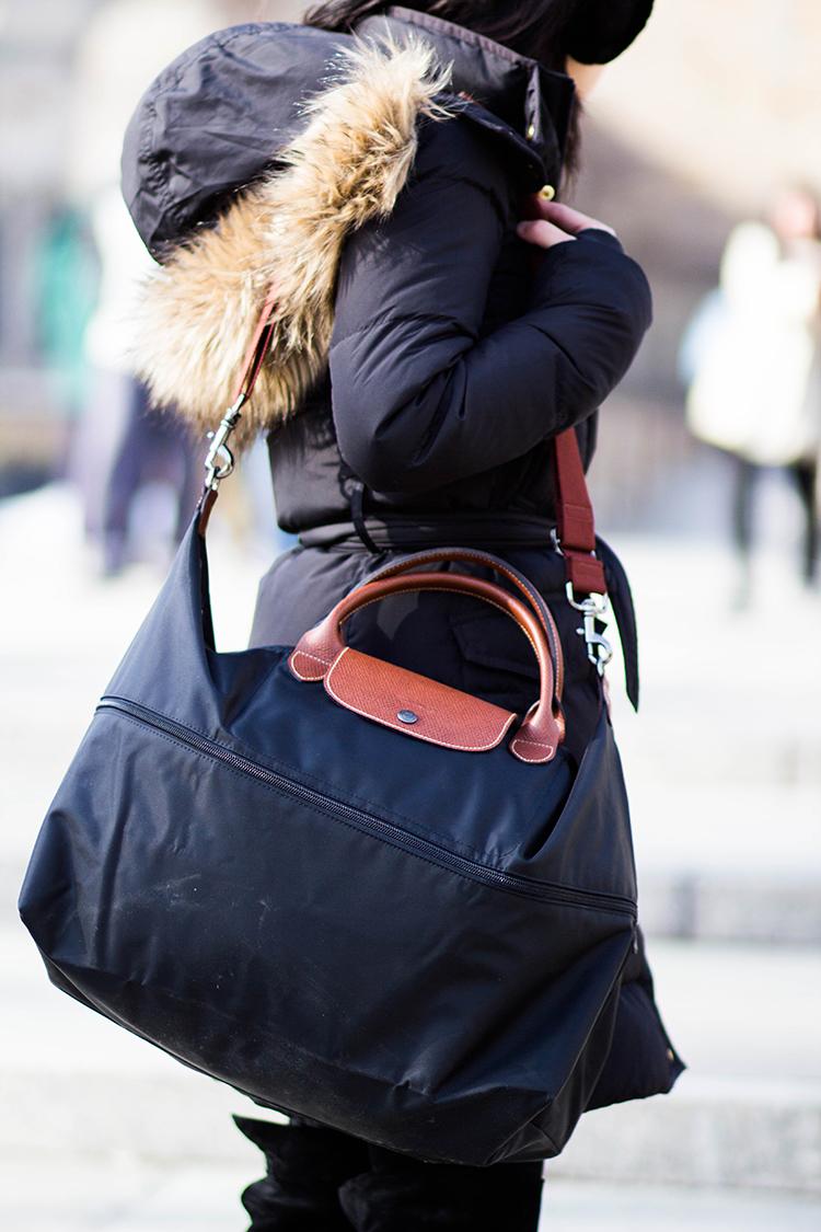 0383bf7a53ca Longchamp Large Travel Bag Dimensions