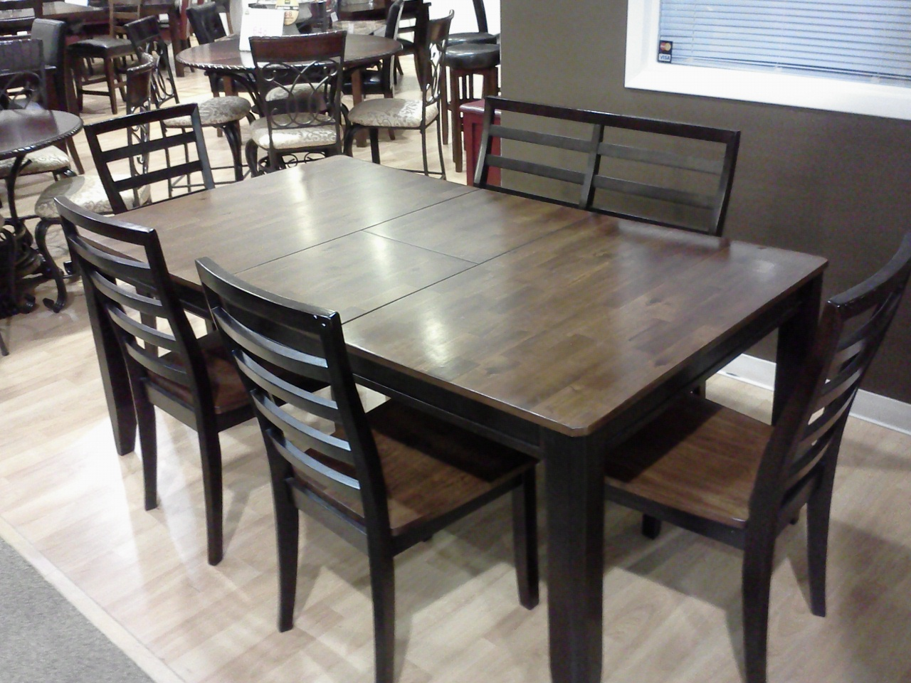 Dining Room Sets Ashley Furniture Has Layaway Who Knew Kitchen Tables