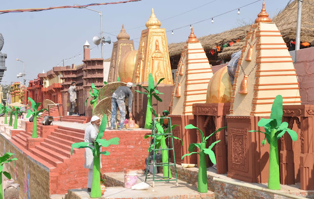 32th International Surajkund Craft Fair will be launched from Friday, Scattered Shrines
