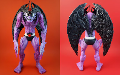 Designer Con 2018 Exclusive Devilman Sutfin Variant Vinyl Figure by Mondo x Unbox Industries