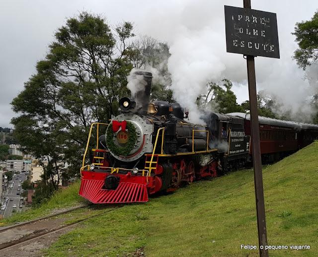 Passeio de Trem Maria Fumaça em Garibaldi