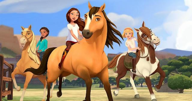 Spirit: Cavalgando Livre