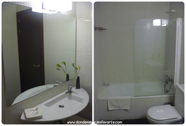 Baño del Hotel Rural Casa Granero