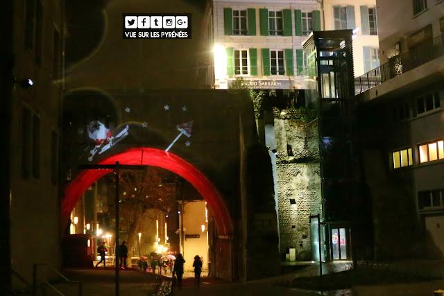 Noël à Pau 2017 le père Noël n'a pas de pot 1