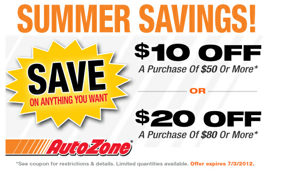 autozone coupon policy butterfly