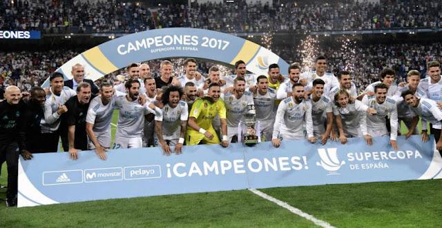 REAL MADRID DERROTA NUEVAMENTE AL BARCELONA Y ES CAMPEÓN DE LA SUPERCOPA DE ESPAÑA