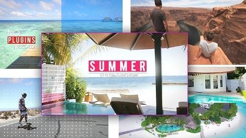 قالب برومو لاستعراض الفيديوهات بالصيف | افتر افكت CC فأعلى