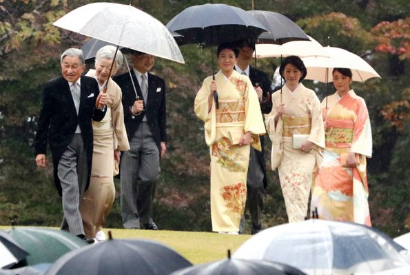 Crown Princess Masako wore the kimono seen in photos for the 2019 calendar. Princess Yoko, Princess Mako and Princess Kiko