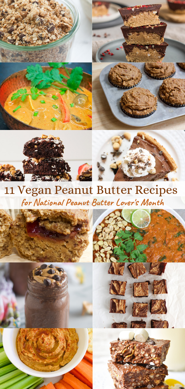 11 Vegan Recipes Featuring Peanut Butter