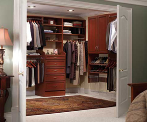The Hayes Company Installing Closets and Storage