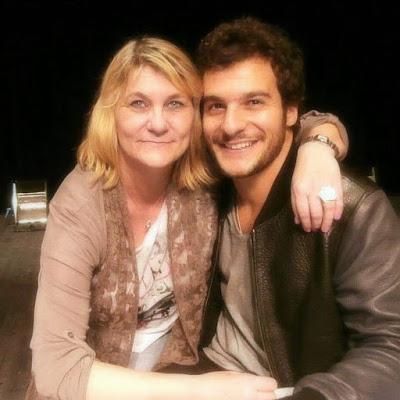 GRAND-QUEVILLY. Sa rencontre avec le chanteur Amir a changé la vie de Valérie, pas groupie mais admirative d'une belle personne.