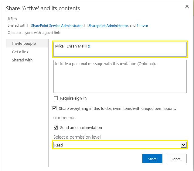 SharePoint Online: Set Folder Permissions using PowerShell