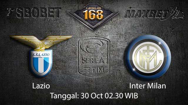 Prediksi Bola Jitu Lazio vs Inter Milan 30 October 2018 ( Italian Serie A )