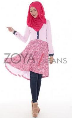 Model Baju Muslim Zoya Modern Terbaru