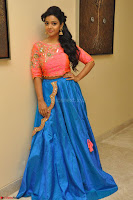Nithya Shetty in Orange Choli at Kalamandir Foundation 7th anniversary Celebrations ~  Actress Galleries 036.JPG