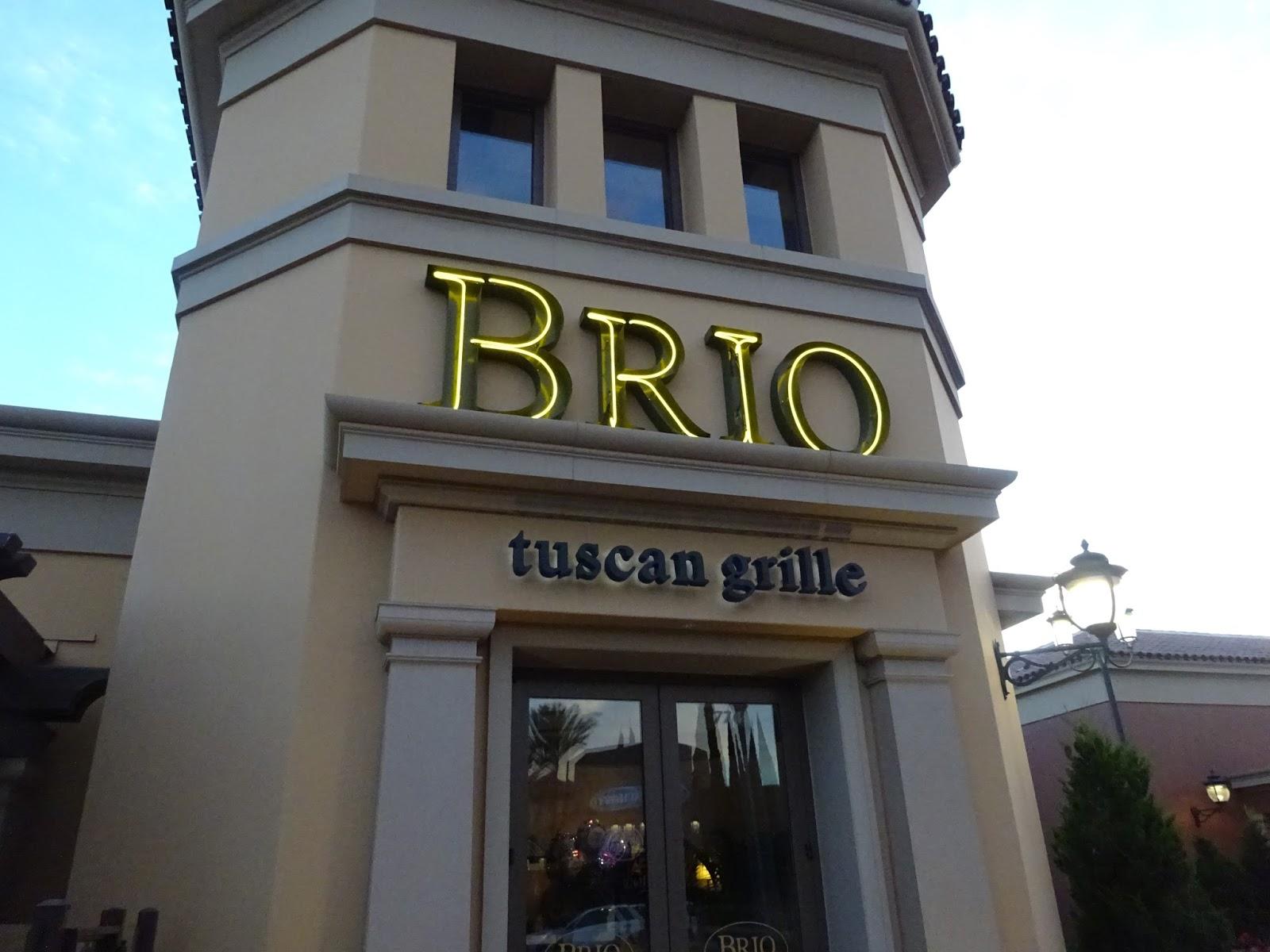 Brio Restaurant Menu In Kentucky