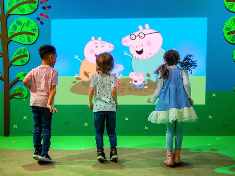 Nickalive First Look At Peppa Pig World Of Play Dallas Fort Worth
