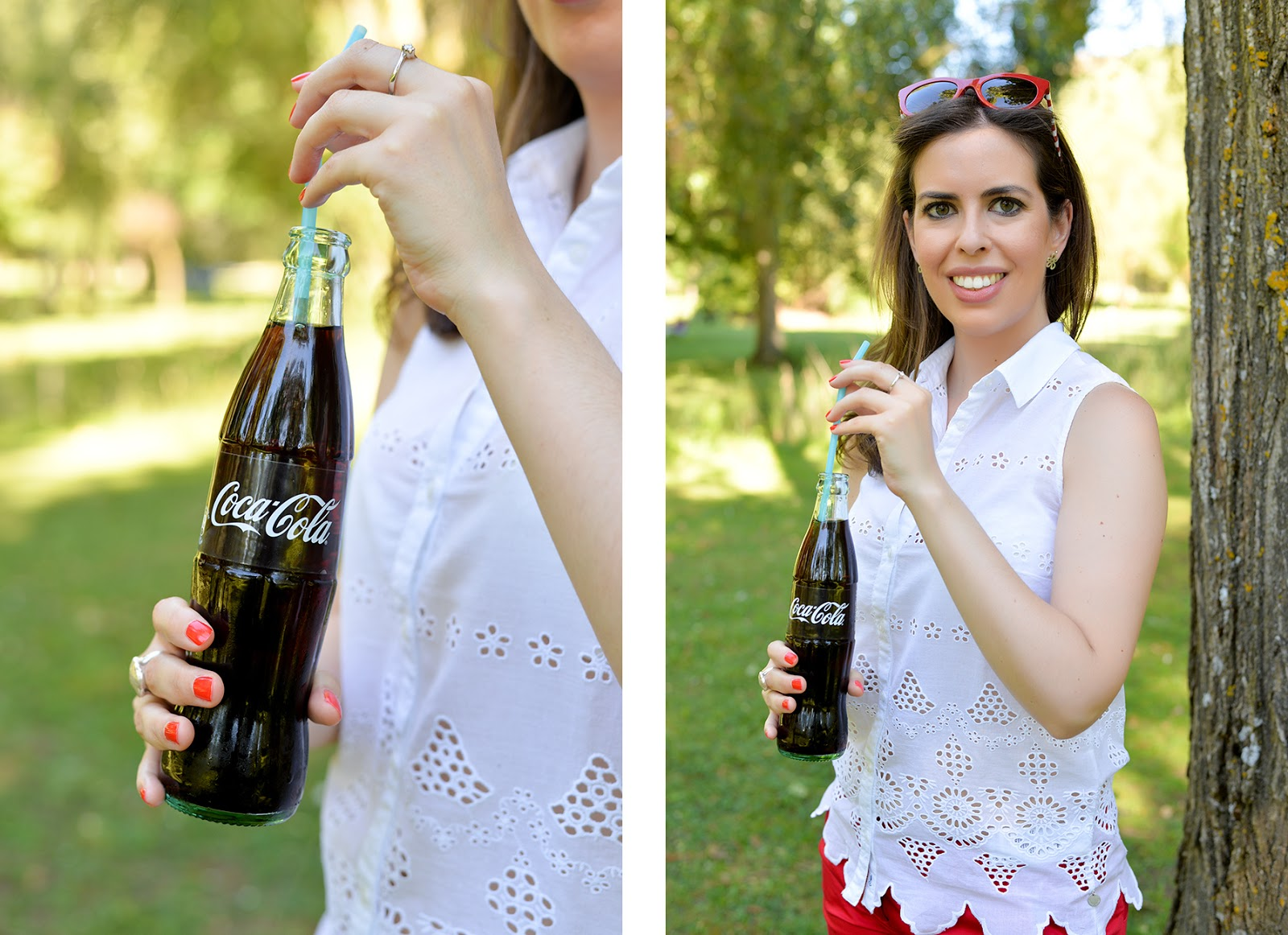 fourth of july picnic tommy hilfiger fashion blogger coca-cola
