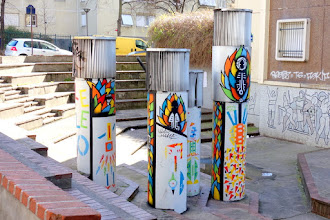 Sunday Street Art : Thym' Art Ducro - rue Rébeval - Paris 19