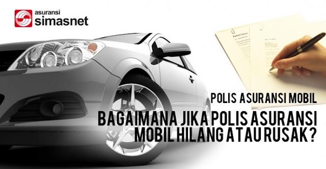 Memiliki Polis Asuransi Mobil Terbaik Simasnet