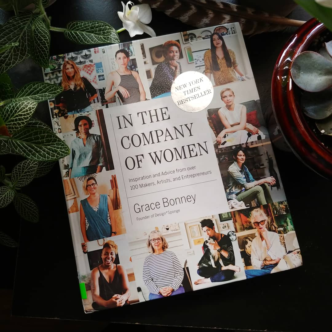 In the Company of Women is filled with women from different walks of life, from chefs and writers to illustrators, actors, interior designers, musicians, artists and many more.