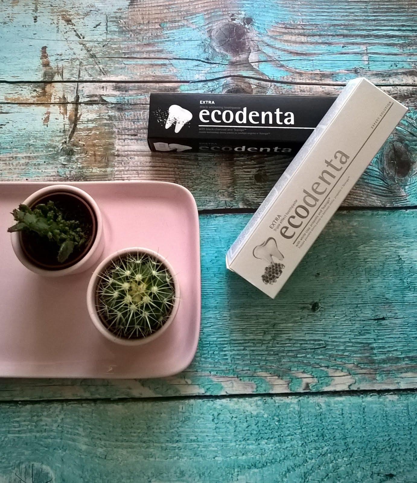 Ecodenta, Pasta do zębów extra potrójny efekt z białą glinką, propolisem i TEAVIGO